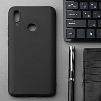 Чехол Innovation, для Honor 10 Lite/Huawei P smart(2019), силиконовый, матовый, черный