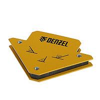 Магнитный угольник Denzel 97551, для сварочных работ, усилие 11 кг, 45, 90, 135