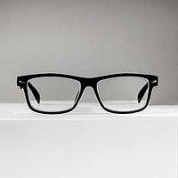 Очки корригирующие 6619, размер 13,5х13,2х3,4, цвет чёрный, -1,5