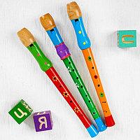 Музыкальная игрушка 'Дудочка большая', цвета МИКС