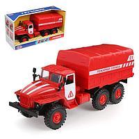 Машина инерционная 'Пожарная служба', свет и звук