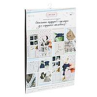 Гардероб и одежда для игрушек малюток, 'Принцесска', набор для шитья, 21 x 29,5 x 0,5 см