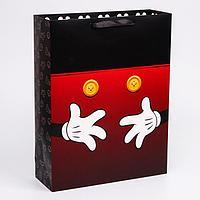 Пакет ламинат вертикальный 'Микки', Микки Маус, 31х40х11 см