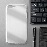 Чехол Innovation, для iPhone 7 Plus/8 Plus, силиконовый, прозрачный