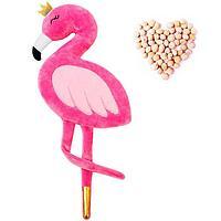 Развивающая игрушка-грелка 'Фламинго'