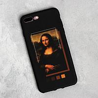 Чехол для телефона iPhone 7/8 plus 'Мона Лиза', 7,7 х 15,8 см