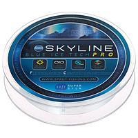 Леска зимняя Sprut SKYLINE Fluorocarbon Composition IceTech PRO 0,125 мм, 3,05 кг, 50 м, цвет голубой