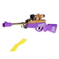 Ружье пневматическое 'Снайпер', стреляет силиконовыми пулями, цвета МИКС