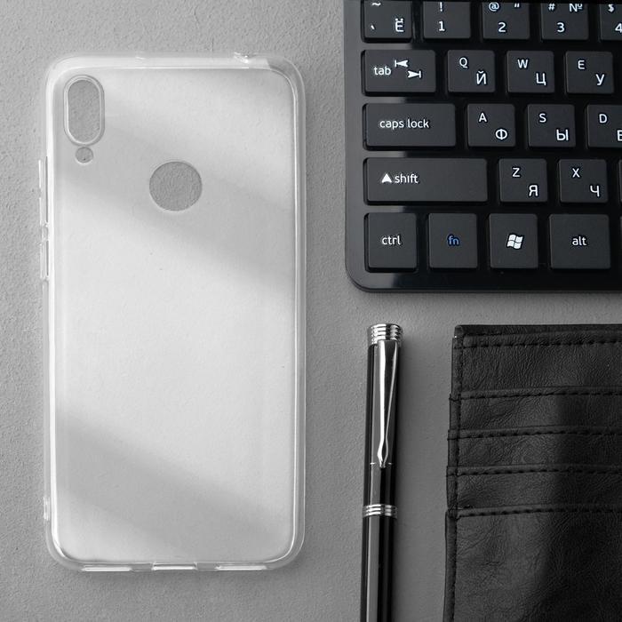 Чехол Innovation, для Huawei Honor 8A/Y6(2019), силиконовый, прозрачный - фото 1