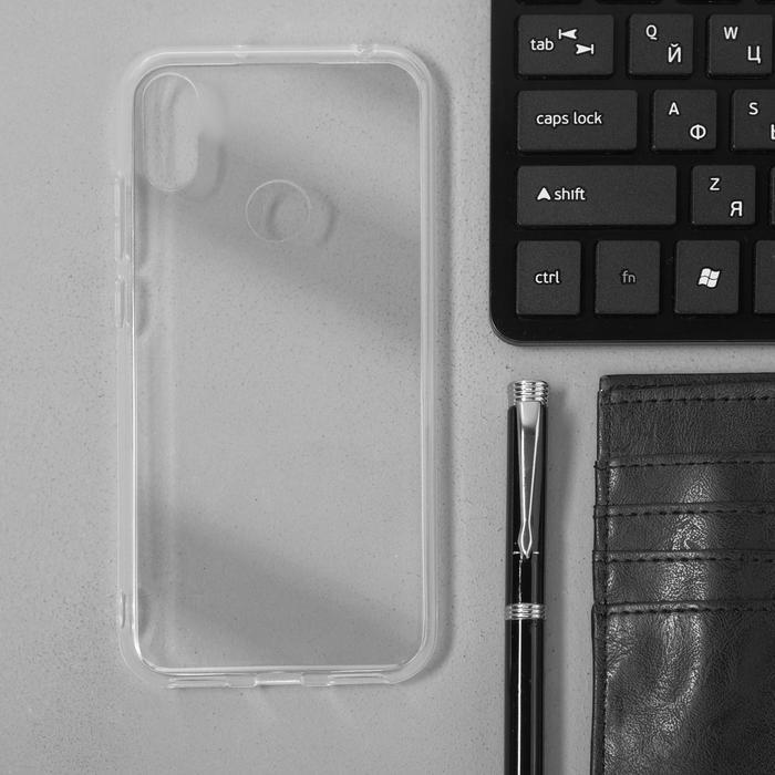Чехол Innovation, для Huawei Honor 8A/Y6(2019), силиконовый, прозрачный - фото 6