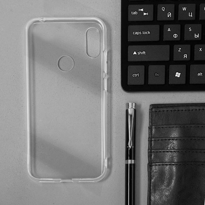 Чехол Innovation, для Huawei Honor 8A/Y6(2019), силиконовый, прозрачный - фото 7