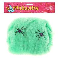 Прикол 'Зелёная паутина', 2 паука