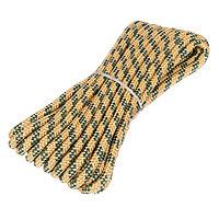 Шнур плетёный 24-х прядный ПП, d10 мм, 10 м, цвет МИКС