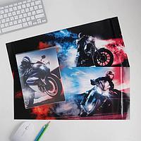 Обложка со вставками 'Мото', 22.6 x 43 см