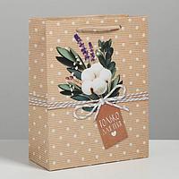 Пакет ламинированный вертикальный 'Только для тебя', MS 18 x 23 x 8 см (комплект из 6 шт.)