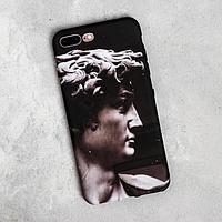 Чехол для телефона iPhone 7/8 plus 'Давид', 7,7 х 15,8 см