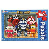 Пазл 160 элементов Robot Trains