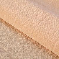 Бумага гофрированная 'Персиковый' 17А/5, 50 см х 2.5 м