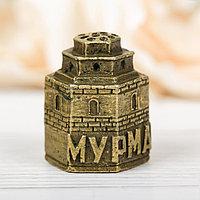 Напёрсток сувенирный 'Мурманск', латунь