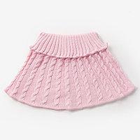 Шарф-манишка для девочки, возраст 3-8 лет, цвет св.розовый