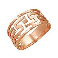 Кольцо 'Клеопатра', позолота, 18,5 размер
