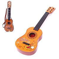 Игрушка музыкальная 'Мелодичная гитара', 6 струн