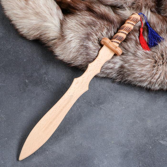 Сувенирное деревянное оружие 'Клинок Лорда', 46 см, массив бука, микс - фото 1