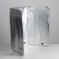 Защитное покрытие для установки на газовую плиту, 50x90 см