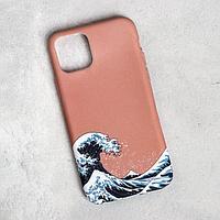 Чехол для телефона iPhone 11 pro 'Большая волна', 7,14 х 14,4 см