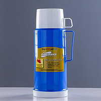 Термос 'Классик' с 1 кружкой и 1 чашкой, 1 л, 13х29 см, микс