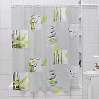 Штора для ванной комнаты Доляна 'Умиротворение', 180x180 см, EVA