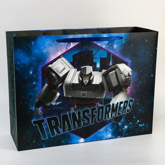 Пакет ламинат 'Transformers', 61х46х20 см, Transformers - фото 1