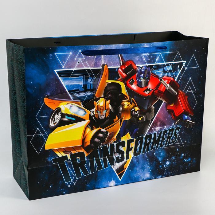 Пакет ламинат 'Transformers', 61х46х20 см, Transformers - фото 2