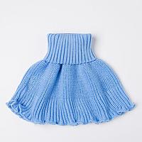 Манишка детская, цвет голубой