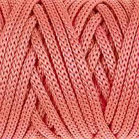 Шнур для рукоделия полиэфирный 4 мм, 50м/110гр (коралловый)