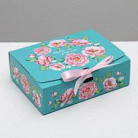 Складная коробка подарочная 'Тебе на радость', 16.5 x 12.5 x 5 см