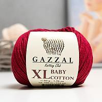 Пряжа 'Baby Cotton XL' 50 хлопок, 50 полиакрил 105м/50гр (3442) (комплект из 5 шт.)
