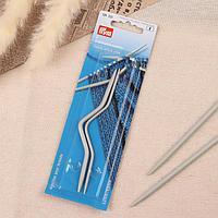 Вспомогательные спицы для вязания, изогнутые, d 2,5/4 мм, 2 шт