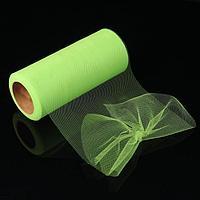 Фатин, 15 см, 11 ± 1 г/кв.м, 23 ± 1 м, цвет зелёный 3