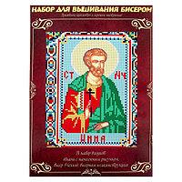 Вышивка бисером 'Святой Мученик Инна Новодунский', размер основы 21,5x29 см