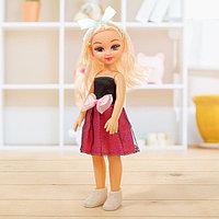 Кукла классическая 'Нина' в платье с аксессуаром, МИКС