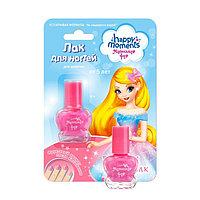 Лак для ногтей Маленькая фея 'Устойчивая формула', розовый шёлк, 6 мл