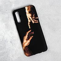 Чехол для телефона Samsung А50 'Сотворение Адама', 7,5 х 15,85 см