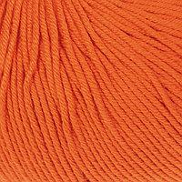 Пряжа 'Baby Cotton' 60 хлопок, 40 полиакрил 165м/50гр (3419 апельсин) (комплект из 5 шт.)