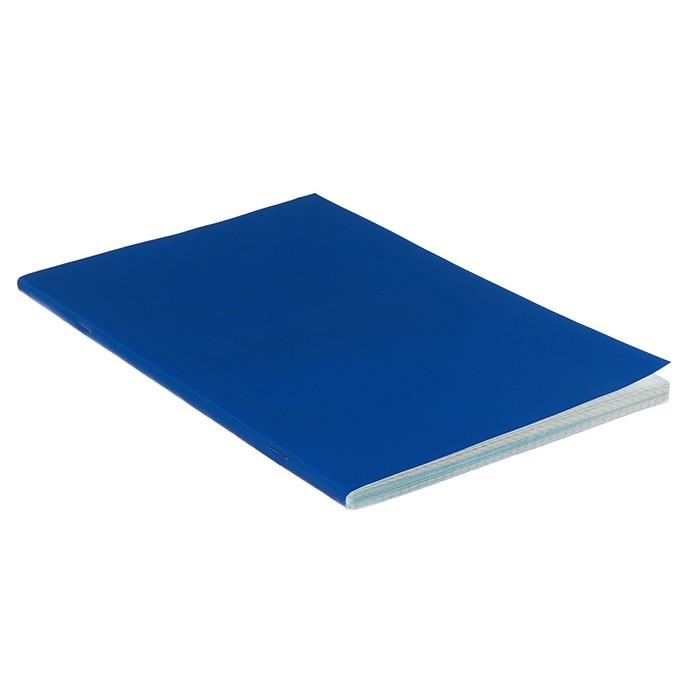 Тетрадь А4, в клетку, 80 листов STAFF, синяя - фото 2