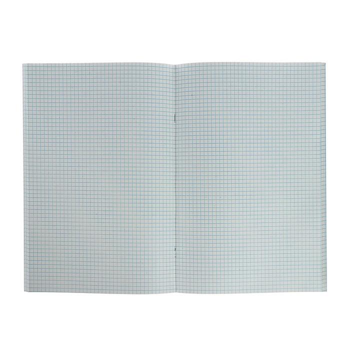 Тетрадь А4, в клетку, 80 листов STAFF, синяя - фото 3