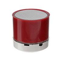 Портативная колонка LuazON LAB-10, 3 Вт, 520 мАч, microSD, красная