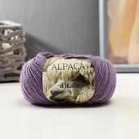 Пряжа 'Alpaca D'Italia' 50 альпака, 50 нейлон 300м/50гр (17 пыльная сирень)