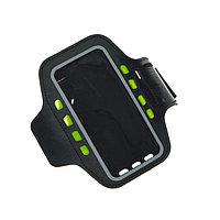 Светодиодный чехол для телефона на руку SY-AA14, до 5.5', от 1 х CR2032, черный