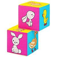 Набор мягких кубиков 'Мама и Малыш'